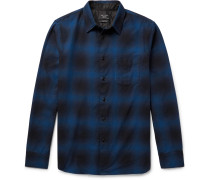Beach Checked Cotton-twill Shirt