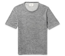 Cotton-blend Terry T-shirt