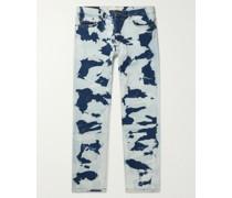 AM001 Autobahn Tie-Dyed Organic Denim Jeans