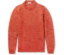 Storr Mélange Cotton, Alpaca And Merino Wool-blend Sweater
