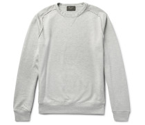 Loopback Cotton And Silk-blend Jersey Sweatshirt