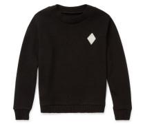 Diamond-intarsia Cashmere Sweater