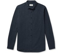 Clerkenwell Pinstriped Cotton Shirt