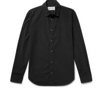 Garment-dyed Cotton-poplin Shirt