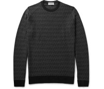 Wickson Mélange Merino Wool Sweater