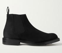 Jason Full-Grain Suede Chelsea Boots