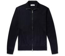Merino Wool Zip-Up Cardigan