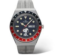 + Peanuts Q Timex Reissue 38mm Stainless Steel Watch