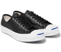Jack Purcell Signature Perforated Leather Sneakers