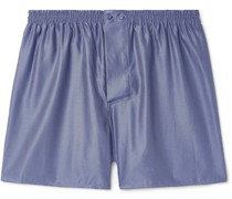 Cotton-Jacquard Boxer Shorts