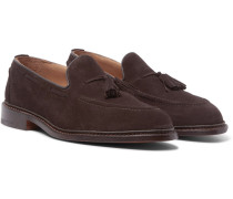 Elton Tasseled Suede Loafers