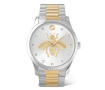 G-Timeless 38mm Stainless Steel and PVD-Plated Watch