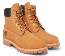 Premium Waterproof Leather-trimmed Nubuck Boots