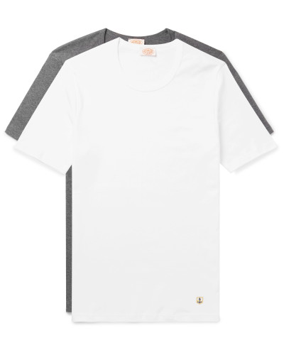 Two-Pack Slim-Fit Cotton-Jersey T-Shirts