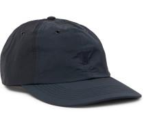 Logo-Embroidered Garment-Dyed Nylon Baseball Cap