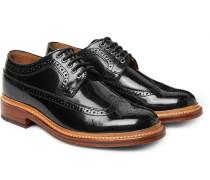 Sid Polished-leather Wingtip Brogues