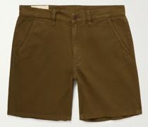 Luke Organic Cotton-Twill Shorts