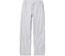 Marcel Striped Cotton Pyjama Trousers