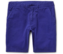 Stretch-cotton Twill Chino Shorts