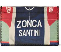 Zonca Santini Printed Leather Cardholder