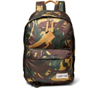 Out Of Office Camouflage-print Canvas Backpack