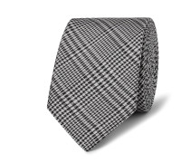 5.5cm Prince Of Wales Checked Silk Tie
