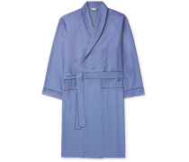 Cotton-Jacquard Robe