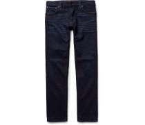 Grim Tim Slim-fit Washed Organic Stretch-denim Jeans