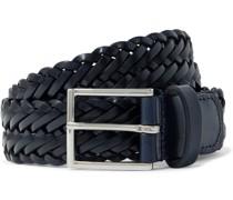 3cm Woven Leather Belt