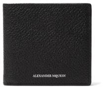 Embossed Pebble-grain Leather Billfold Wallet
