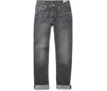 Washed Selvedge Denim Jeans