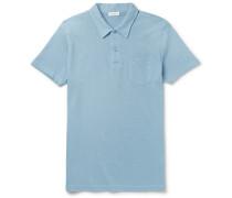 Riviera Slim-fit Cotton-piqué Polo Shirt