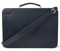 Costa Pebble-grain Leather Briefcase