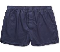 Lombard Cotton-jacquard Boxer Shorts