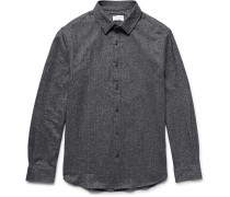 Slim-fit Cotton-twill Shirt
