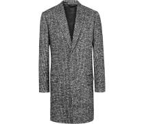Woven Wool-blend Overcoat