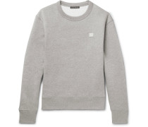 Fairview Mélange Fleece-back Cotton-jersey Sweatshirt