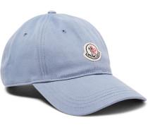 Appliquéd Cotton-twill Baseball Cap