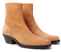 Western Tod Suede Boots