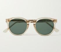 St Germain Round-Frame Acetate Sunglasses