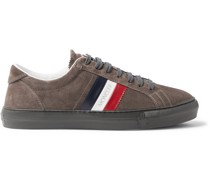New Monaco Suede and Leather Sneakers