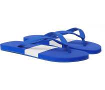 Haston Two-tone Rubber Flip Flops