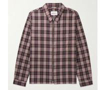 Blake Checked Brushed Cotton-Flannel Jacket