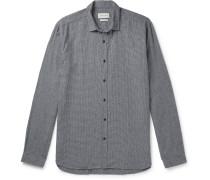 Clerkenwell Micro-Checked Cotton Shirt