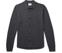 Martin Boiled Wool Cardigan