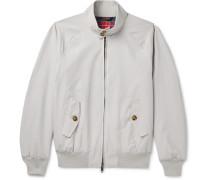 G9 Cotton-Blend Harrington Jacket