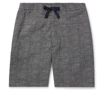 Phil Slim-Fit Polka-Dot Cotton Drawstring Shorts