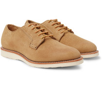 Postman Suede Derby Shoes