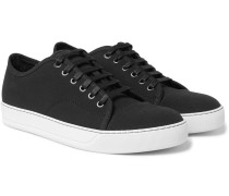 Cap-toe Canvas Sneakers