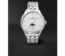 Clifton Baumatic Automatic Moon-Phase 42mm Stainless Steel Watch, Ref. No. M0A10552